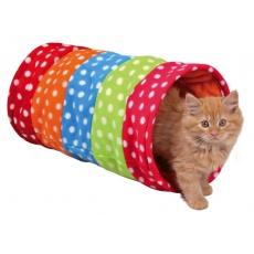 Tunel iz pliša za mačke