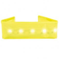 Svetlobna ovratnica za pse, 25 cm