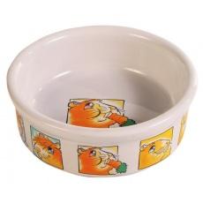 Posoda za morske prašičke, keramika, s poslikavo - 240 ml