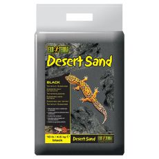 Pesek za terarij - črn 4,5 kg