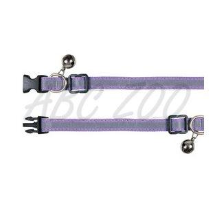 Odsevna mačja ovratnica, vijolična - 15 - 20 cm