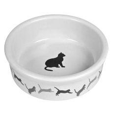Keramična posoda za mačke z motivom - 250 ml