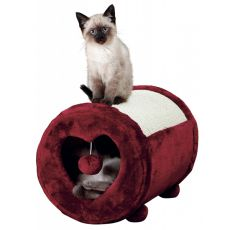 Mačji praskalnik, bordó srce