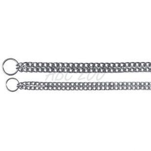 Kromirana verižna ovratnica za pse, 50cm/2,5mm
