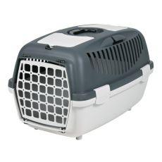 Transportni boks za pse, težke do 8 kg - siv