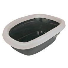 Mačje stranišče CARLO - sivo
