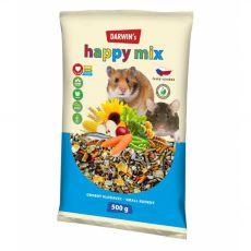 Darwin's Happy Mix hrana za majhne glodavce 500 g
