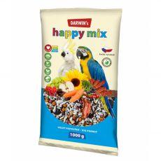 Darwin's Happy Mix hrana za velike papige 1 kg