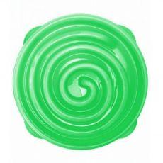 Posoda Terra Natura Slow feeder Bowl, zelena spirala