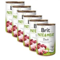 Konzervirana hrana Brit Paté & Meat Duck 6 x 400 g