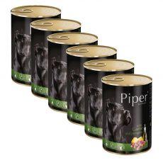 Konzerva Piper Adult divjačina in buča 6 x 400 g
