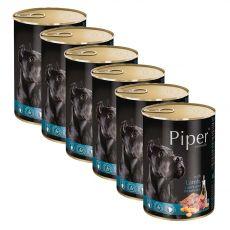 Konzerva Piper Adult govedina, korenje in rjavi riž 6 x 400 g