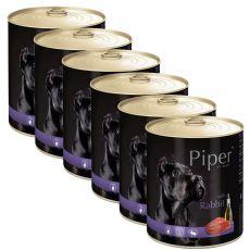 Konzerva Piper Adult kunec 6 x 800 g
