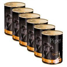 Konzerva Piper Adult prepelica 6 x 400 g