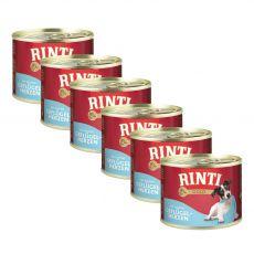 Konzervirana hrana RINTI GOLD perutninska srca 6 x 185 g