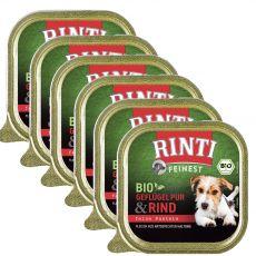 Mokra hrana RINTI Bio govedina 6 x 150 g
