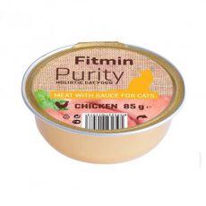 Fitmin Cat Purity hrana s piščancem v posodici 85 g
