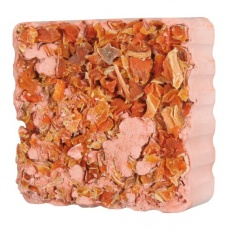 Vitaminski kamen za glodavce - korenje, z držalom, 75 g