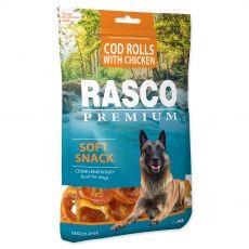 Rasco Premium Soft Snack Cod Rolls With Chicken 80 g