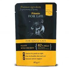 Fitmin Cat For Life Chicken vrečka 85 g