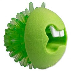 Rogz Fred žoga za nego zob, zelena M 6,4 cm