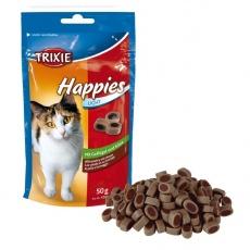 Prigrizki za mačke - perutnina, sir, 50 g