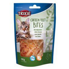 Prigrizki za mačke - piščančji fileji, 50 g
