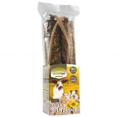 NATUREland BRUNCH Sticks with petals 120 g