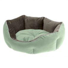 Ferplast Queen 60 zeleno-siva postelja za psa, 60 x 46 cm