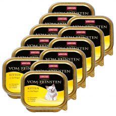 Animonda Vom Feinsten Kitten – perutnina 12 x 100 g