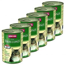 Animonda Cat BROCCONIS divjačina in perutnina 6 x 400 g