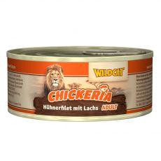 Wildcat Chickeria Chicken & Salmon konzervirana hrana 90 g