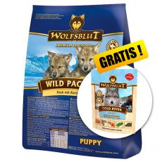 WOLFSBLUT Wild Pacific Puppy 15 kg + DARILO