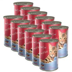 Konzerva BEWI CAT Meatinis LOSOS 12 x 400 g