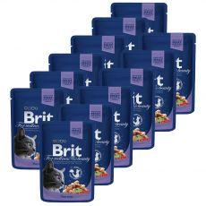 Vrečka BRIT Premium Cat Cod Fish 12 x 100 g
