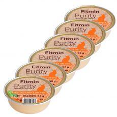 Fitmin Cat Purity hrana z lososom v posodici 6 x 85 g
