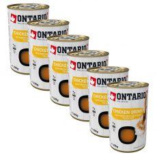 Ontario Cat chicken drink 6 x 135 g