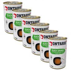 Ontario Cat duck drink 6 x 135 g