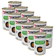 Ontario Cat duck drink 12 x 135 g