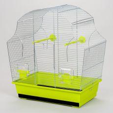 Ptičja kletka MARGOT II krom - 50,5 x 28 x 54 cm