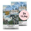 TASTE OF THE WILD Pacific Stream Puppy 2 x 12,2 kg