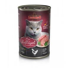 Mokra hrana za mačke Leonardo - perutnina 400g
