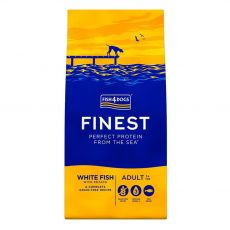 FISH4DOGS FINEST White Fish Adult 12 kg
