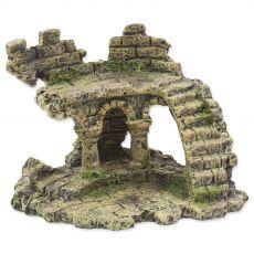 Okras AQUA EXCELLENT ruševine gradu 13 x 9,7 x 9,5 cm