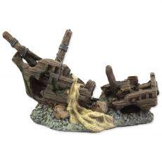 Okras AQUA EXCELLENT ladijska razbitina 22 x 11,8 x 11,8 cm