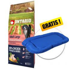 ONTARIO Adult Large - chicken & potatoes 12 kg + DARILO