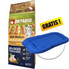 ONTARIO Adult Medium - chicken & potatoes 12 kg
