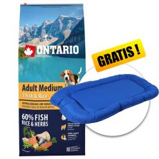 ONTARIO Adult Medium 7 Fish & Rice 12 kg