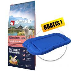 ONTARIO Weight Control Large - turkey & potatoes 12 kg