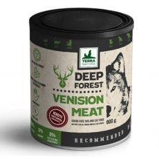 Konzervirana mokra hrana Terra Natura Deep Forest Venison Meat 800 g